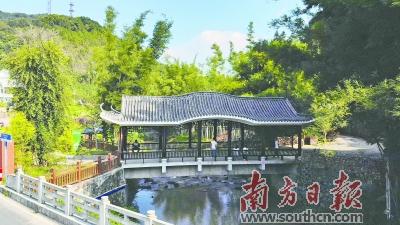 广州市从化区吕田镇莲麻村打造特色小镇 助村民早日实现生活富裕